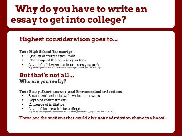 6 College Essay Topics