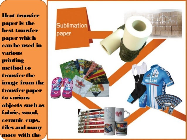 The Common Used Dye Sublimation Paper ---100g Sublimation
