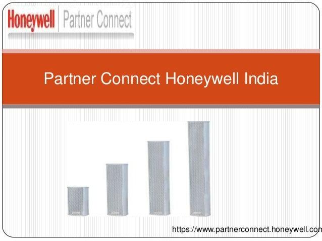 Partner Connect Honeywell India https://www.partnerconnect.honeywell.com