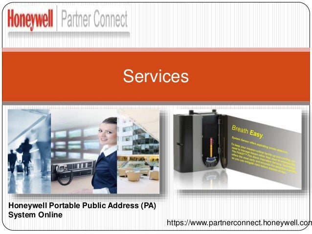 The Communication System with Honeywell Public Address System Slide 3