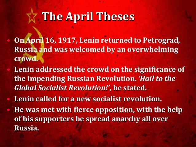 """significance of the bolshevik revolution The universal significance of the russian revolution, however, lies above all with the contributions of the october revolution to human understanding all knowledge emerges in social context, and the most advanced understandings of society emerge in connection with the social movements formed by the dominated (see """" ."""