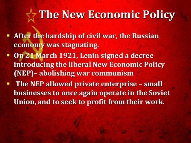 war communism and nep essay