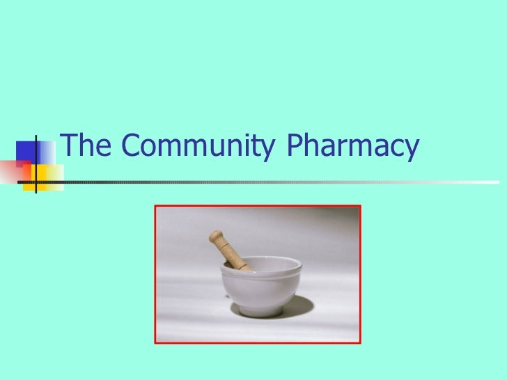 The Community Pharmacy
