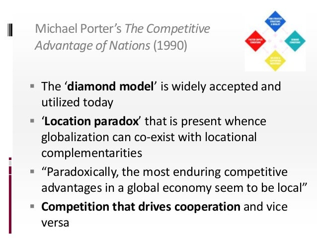 competitive advantage of nations porter review Competitive advantage of nations by michael e porter, 9780684841472, available at book depository with free delivery worldwide.