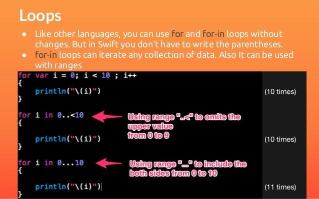 swift programming language tutorial pdf