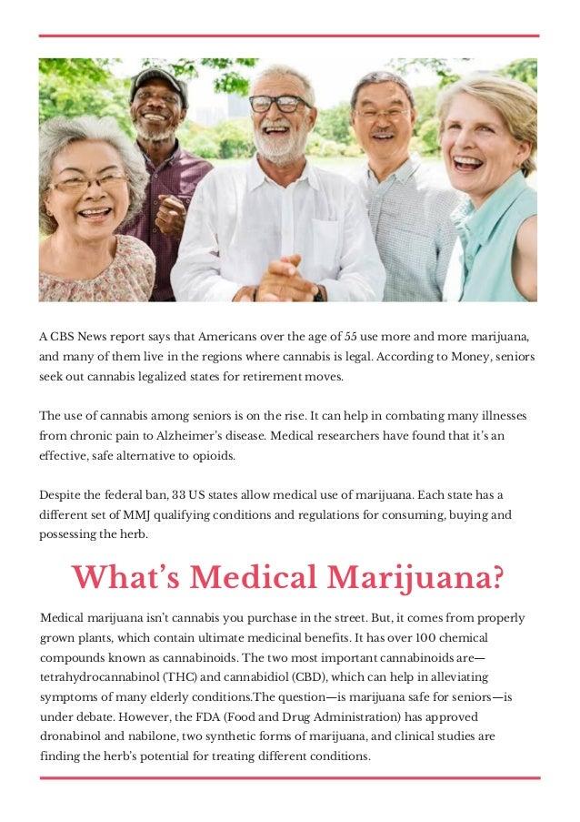 The complete guide to medical marijuana for seniors Slide 2