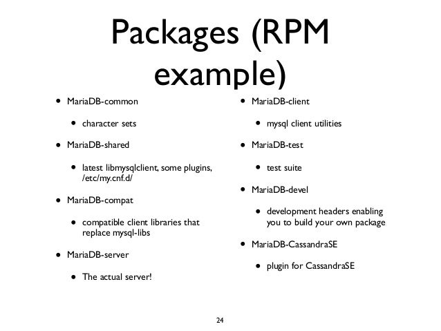The Complete MariaDB Server tutorial