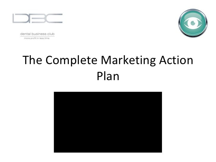 The Complete Marketing Action Plan