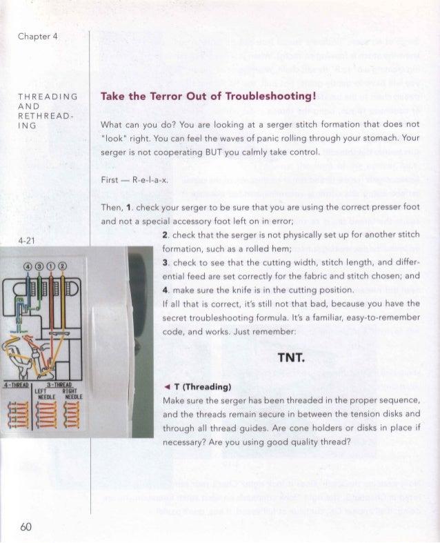 The complete serger handbook 60 61 fandeluxe Gallery