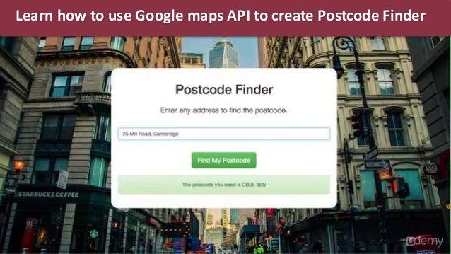 how to use google maps api website mobile