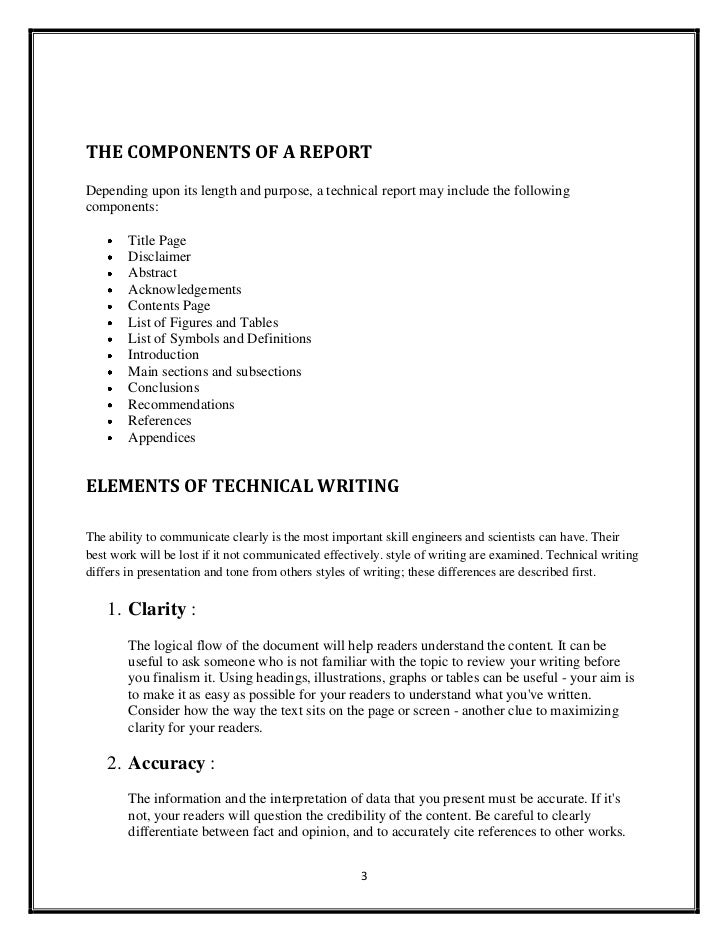 Technical writing abstract definition dictionary