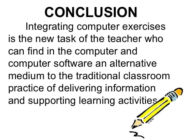 conclusion of computer This module discussed what a computer program is and the environment in which it performs.