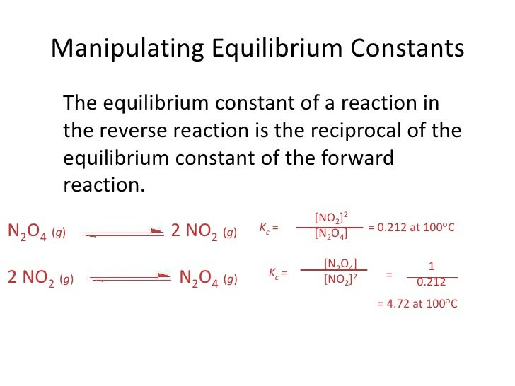 concepts of equilibrium Chemistry worksheet name: _____ equilibrium calculations block: _____ i equilibrium and equilibrium constant calculations.