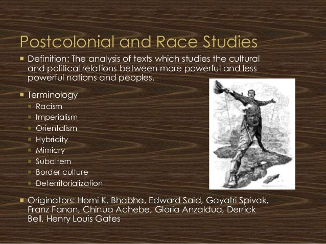 an analysis of the concept of racism in literature The concept originated in the interaction between colonizer and colonial and is prominent in the literature on post-colonialism (said, 2003 bhabha, 1994) in many ways, the concept of the other is similar to stereotyping but it carries larger and more symbolic meanings.