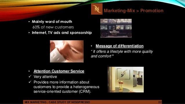 starbucks case study marketing mix