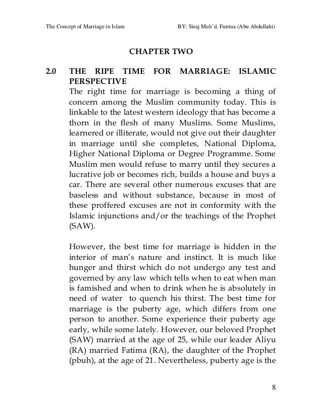 the concept of marriage in islam  13