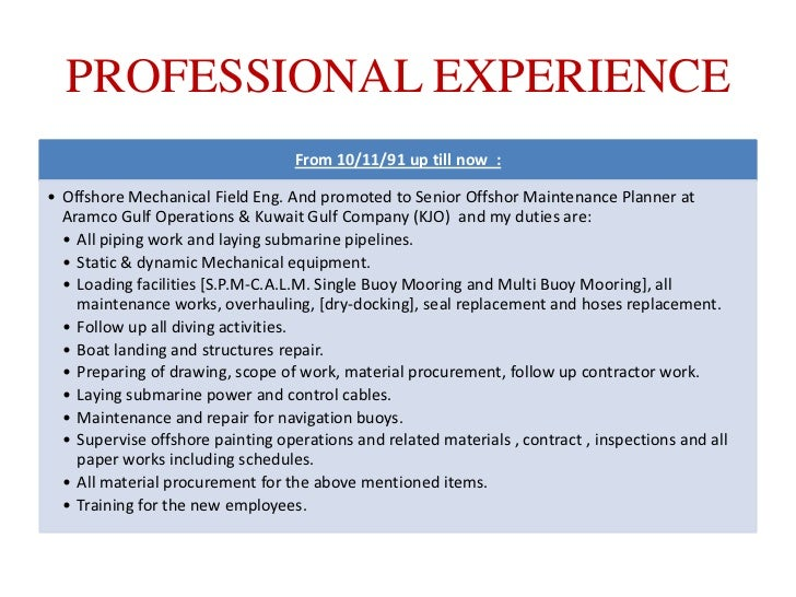 professional qualifications for resume