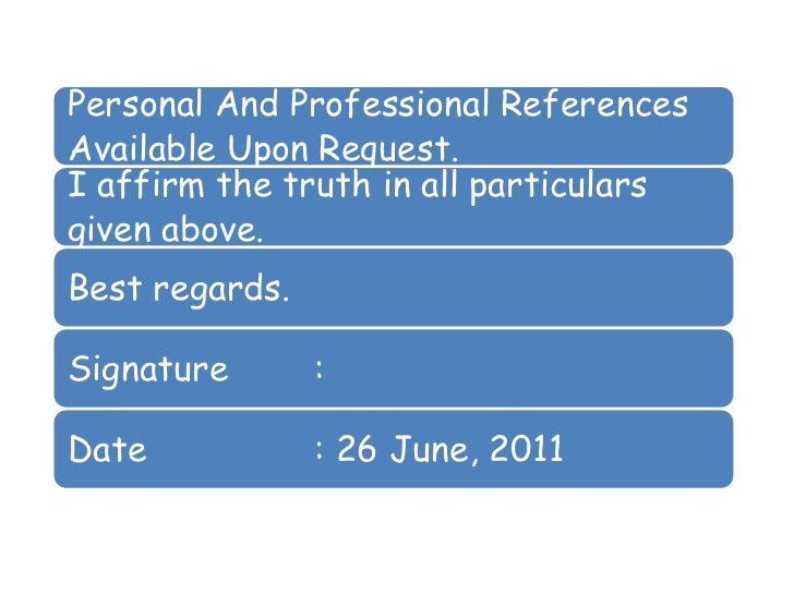 The Confidential Resume Of Professional Qualifications