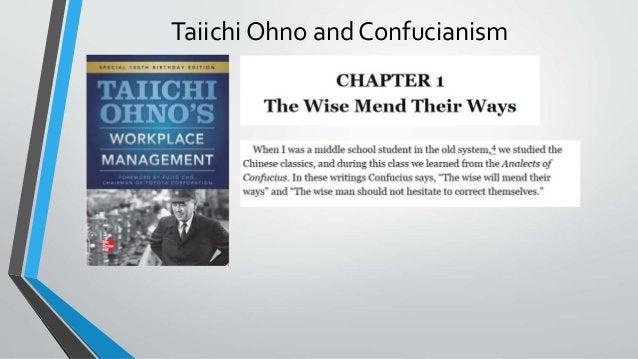 Taiichi Ohno and Confucianism
