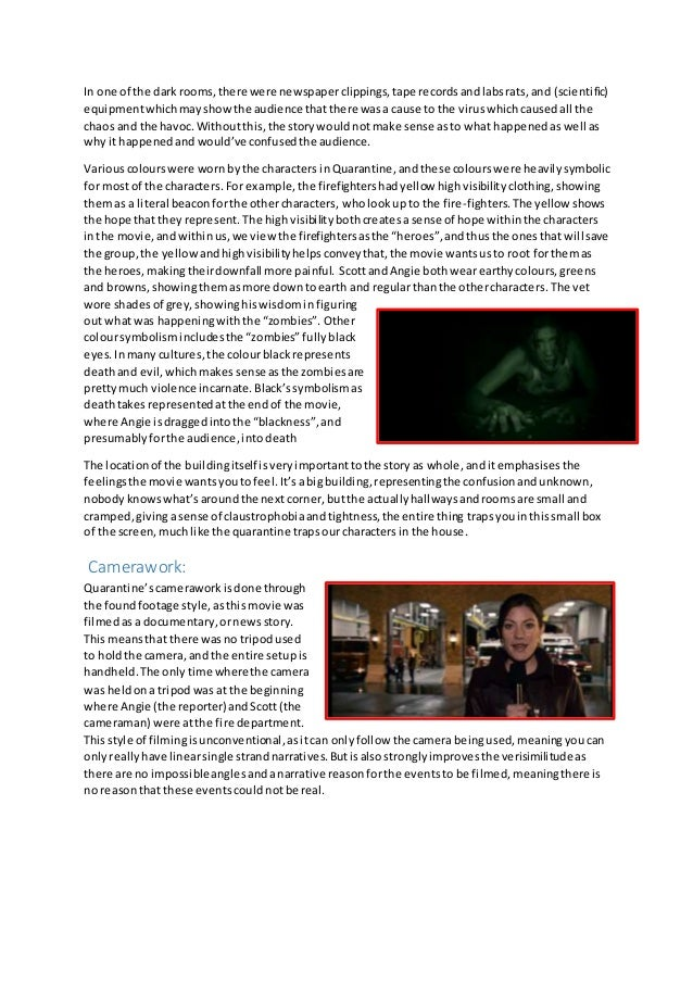 essay on horror movies 10