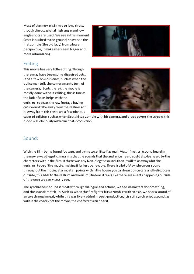 essay on horror movies 12
