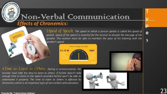 Non Verbal Communication Major Media Of Oral Communication Biological clocks are fundamental to the functioning of life and to the organization and coordination of behavior. non verbal communication major media