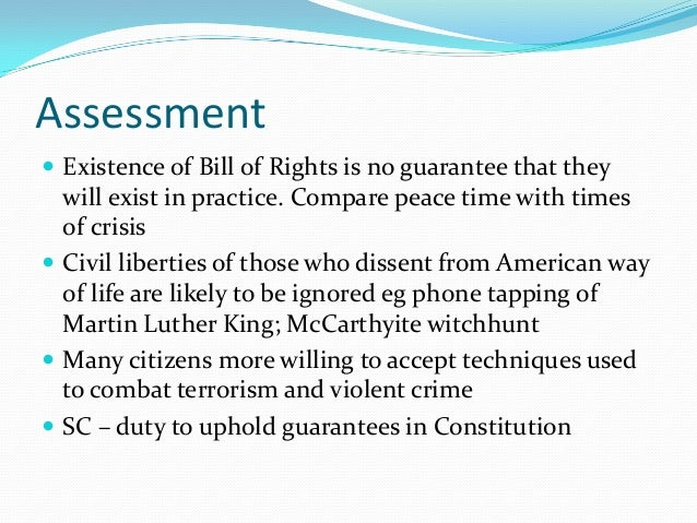 the bill of rights essays A bill of rights essay - a bill of rights a bill of rights is a statement of values and standards, of rights and responsibilities it is a 'higher law' than those which.