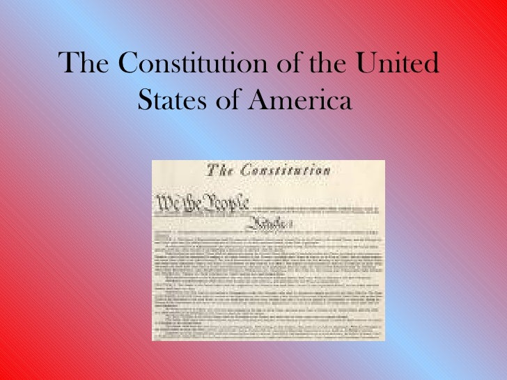 Two Views of the U.S. Constitution: Which do You Support?
