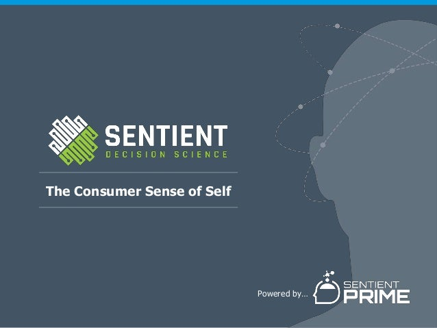 The Consumer Sense of Self Powered by…