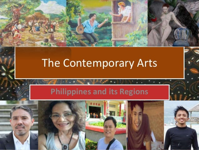 The Contemporary Arts Philippines and its Regions