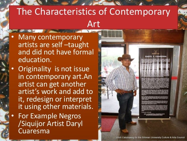 The Introduction To Contemporary Arts