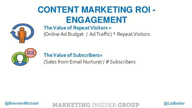 To put a monetary value on RVR, we need to look at the average amount you're spending in advertising to drive net new traf...