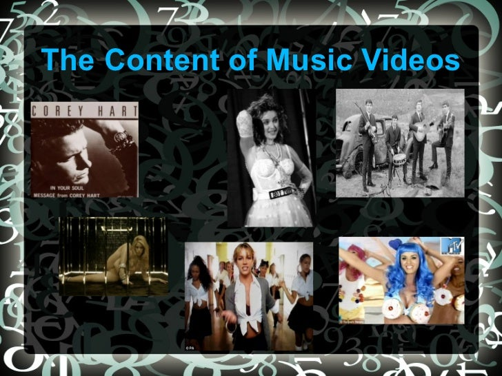 The Content of Music Videos