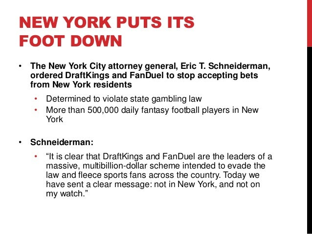 Is gambling illegal in new york state