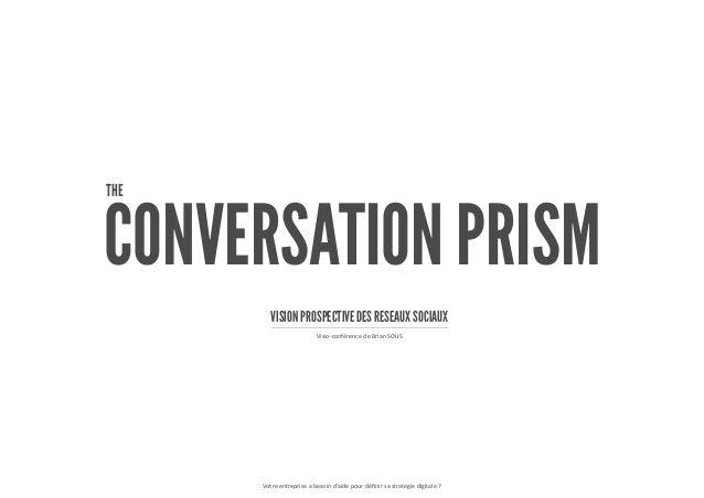CONVERSATION PRISM Votre entreprise a besoin d'aide pour définir sa stratégie digitale ? Visio-conférence de Brian SOLIS T...
