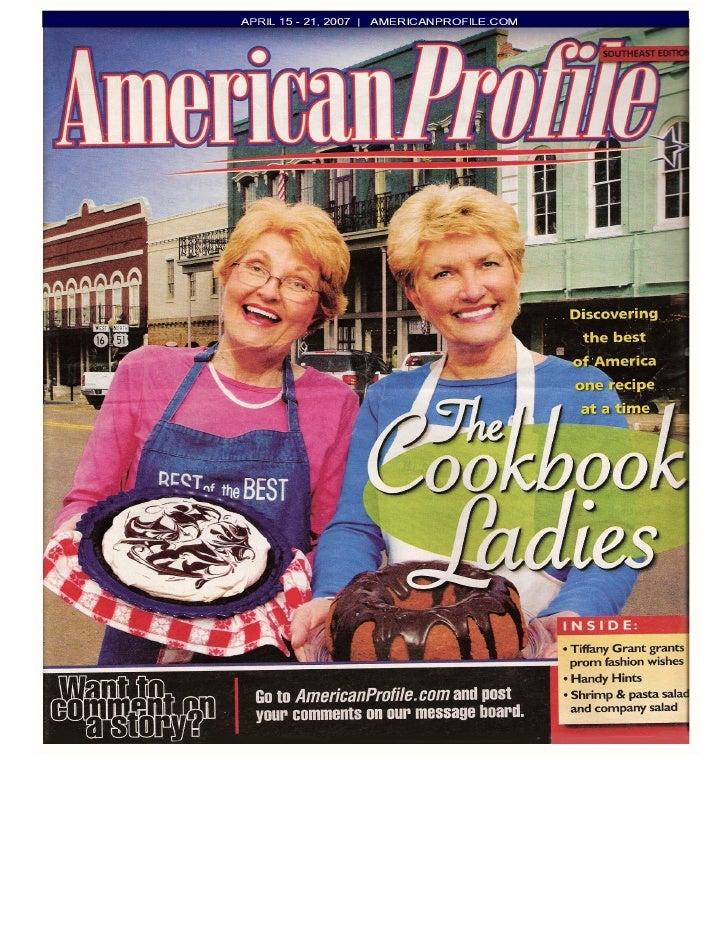 The Cookbook Ladies