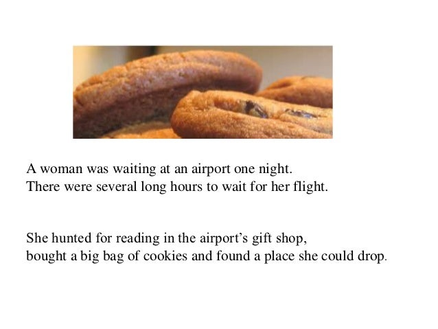 A woman was waiting at an airport one night.There were several long hours to wait for her flight.She hunted for reading in...