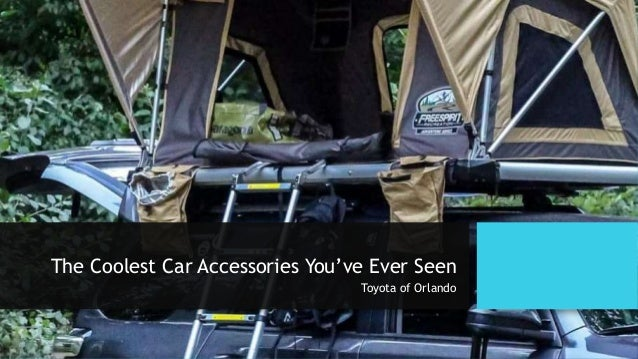 The Coolest Car Accessories You've Ever Seen Toyota of Orlando