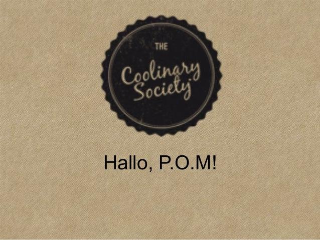 Hallo, P.O.M!