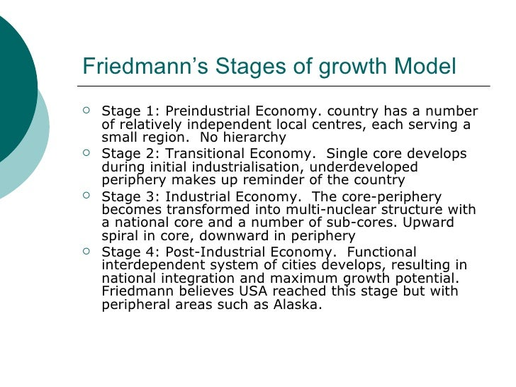 the core periphery model