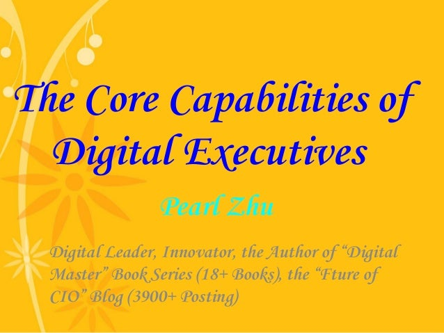 "Pearl Zhu Digital Leader, Innovator, the Author of ""Digital Master"" Book Series (18+ Books), the ""Fture of CIO"" Blog (3900..."