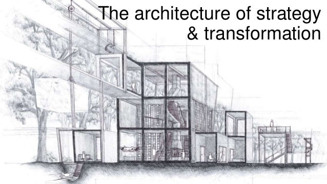 The architecture of strategy & transformation