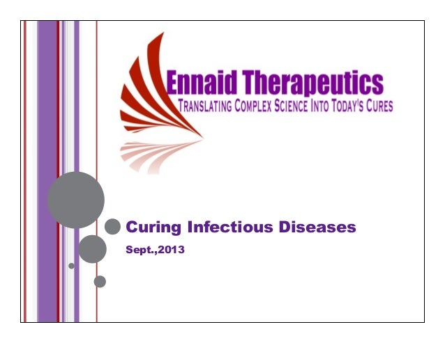 Curing Infectious Diseases Sept.,2013