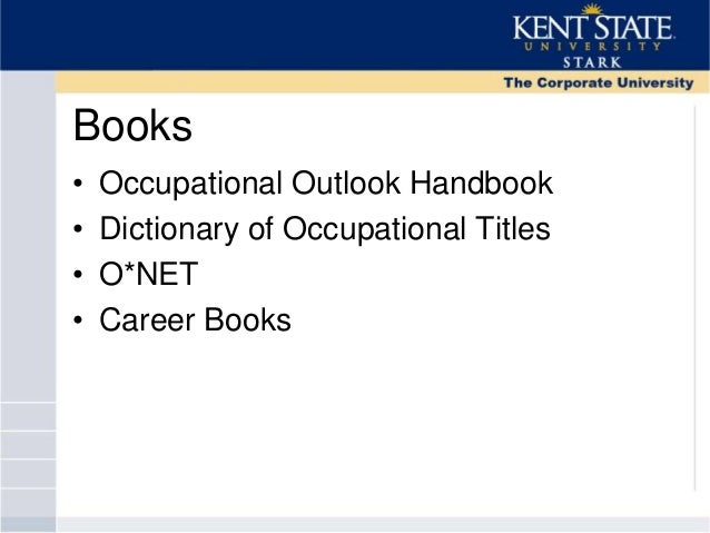Dictionary of occupational titles search