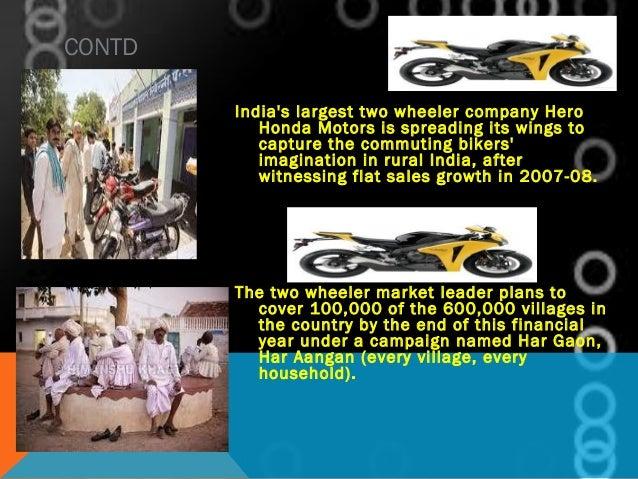 marketing strategy of hero motocorp Senior manager- strategic marketing hero motocorp ltd april 2018 – present (3 months) new delhi, india senior manager- global product planning hero motocorp ltd.