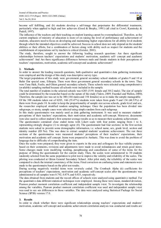 Journal of Education and Practice www.iiste.org ISSN 2222-1735 (Paper) ISSN 2222-288X (Online) Vol.5, No.20, 2014 78 becom...