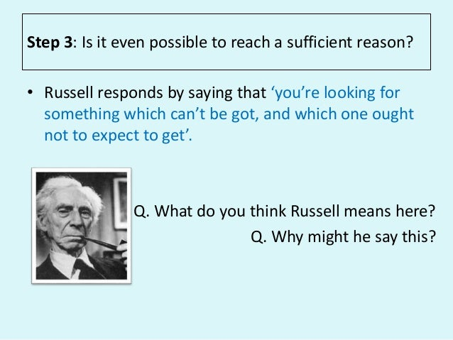 russell and copleston debate essay So it is worth our while going back over this essay to weigh its logical  in his  debate with fr copleston, russell could never bring himself to.
