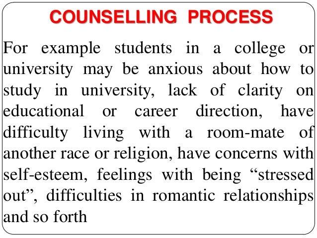 COUNSELING PROCESS Slide 3