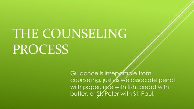 1 explain the process of counseling in Rehabilitation counseling: the profession chapter 1 rehabilitation counseling : the profession  a collegial process based on self and peer assessment for public .