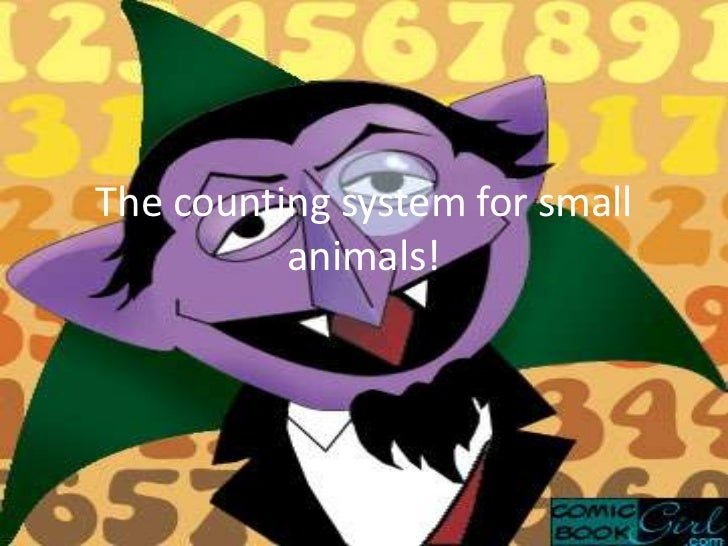 The counting system for small          animals! .